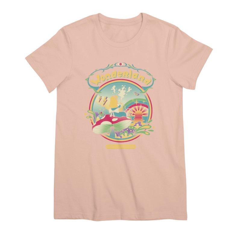 Day Dreamer Women's Premium T-Shirt by vincenttrinidad's Artist Shop