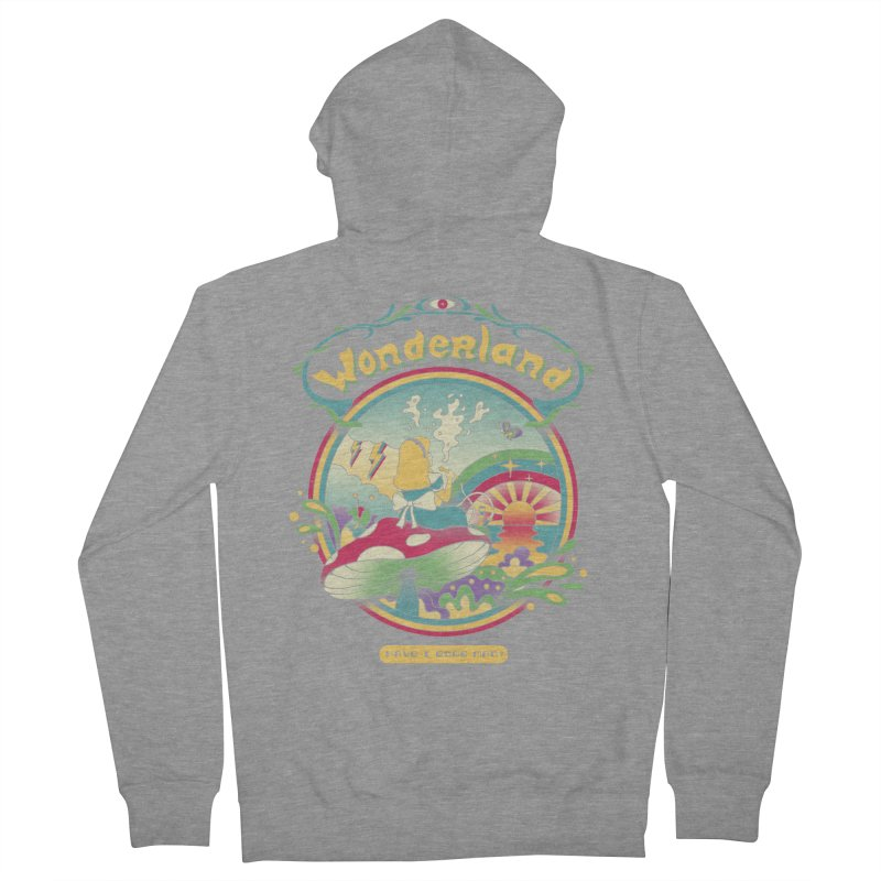Day Dreamer Women's French Terry Zip-Up Hoody by vincenttrinidad's Artist Shop