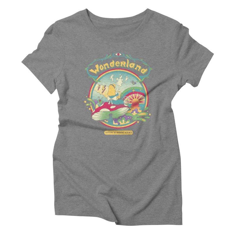 Day Dreamer Women's Triblend T-Shirt by vincenttrinidad's Artist Shop