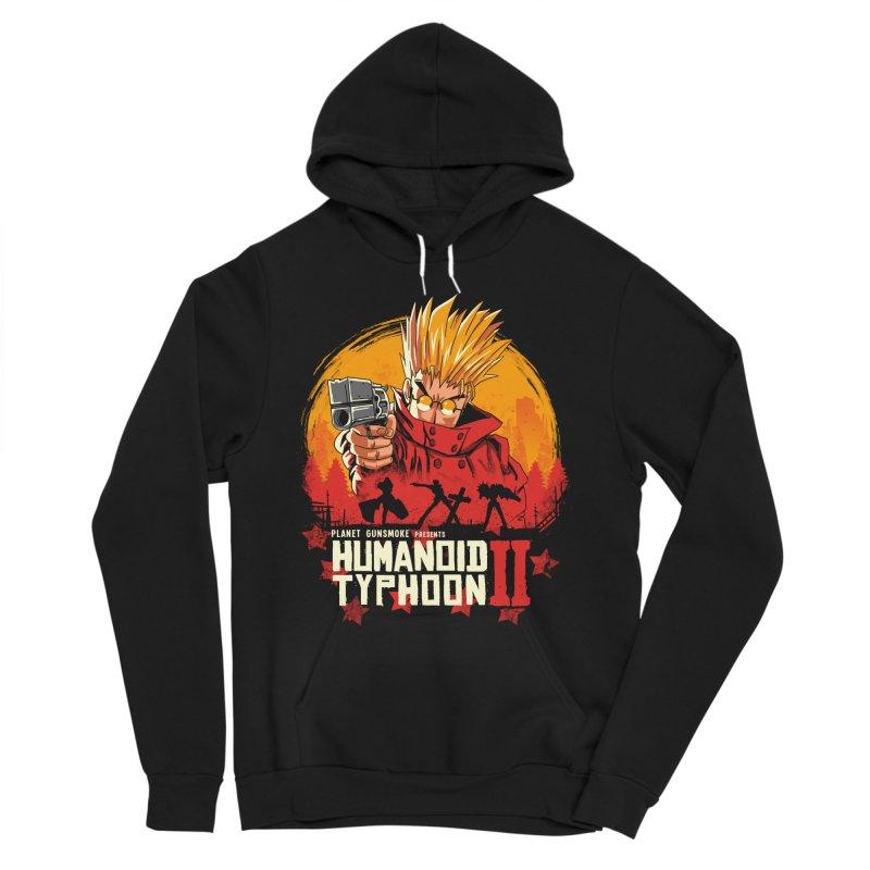 Red Humanoid Typhoon II Women's Pullover Hoody by vincenttrinidad's Artist Shop