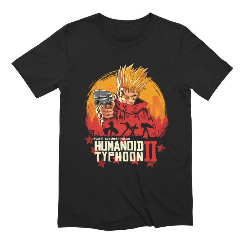 Red Humanoid Typhoon II Men's French Terry Zip-Up Hoody by vincenttrinidad's Artist Shop