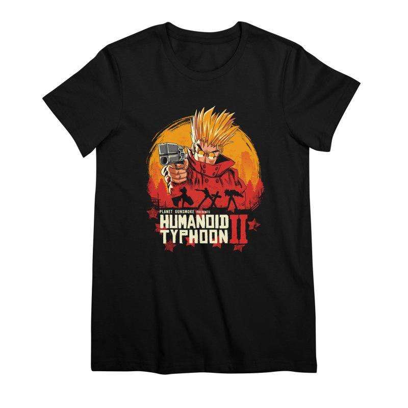 Red Humanoid Typhoon II Women's Premium T-Shirt by vincenttrinidad's Artist Shop