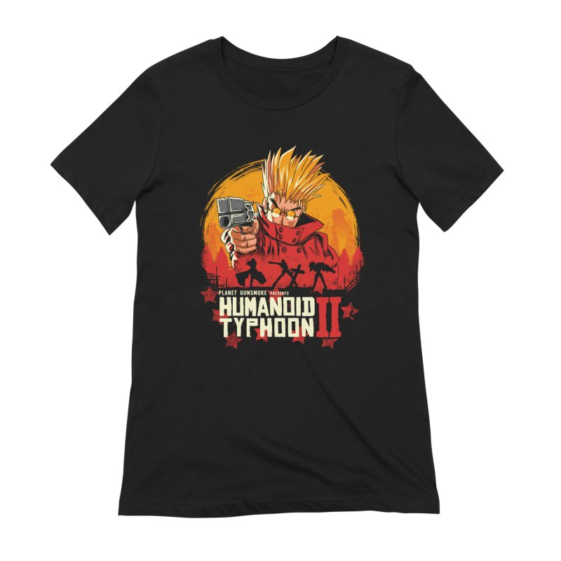 Red Humanoid Typhoon II Women's Extra Soft T-Shirt by vincenttrinidad's Artist Shop