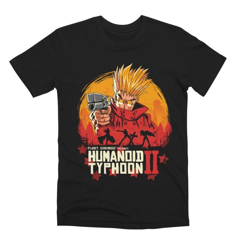 Red Humanoid Typhoon II Men's Premium T-Shirt by vincenttrinidad's Artist Shop