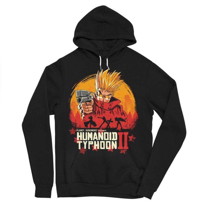 Red Humanoid Typhoon II Men's Sponge Fleece Pullover Hoody by vincenttrinidad's Artist Shop