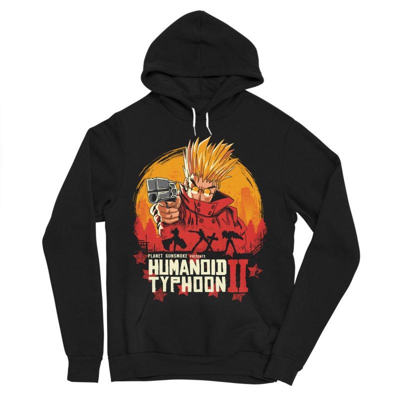 Red Humanoid Typhoon II Women's Sponge Fleece Pullover Hoody by vincenttrinidad's Artist Shop
