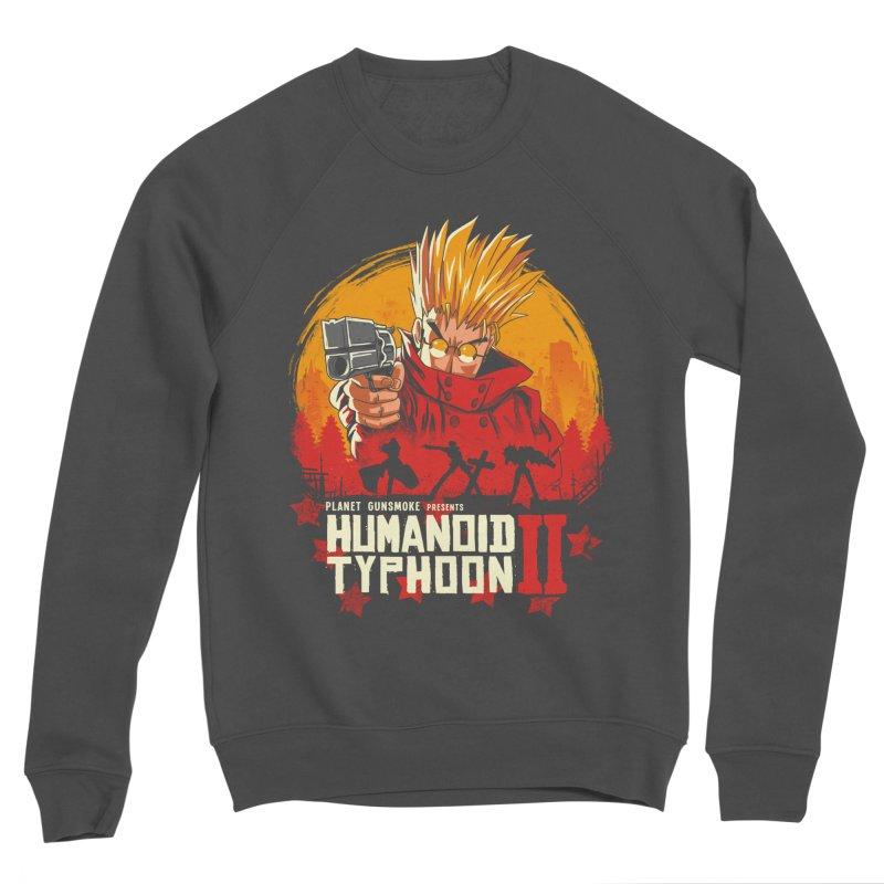 Red Humanoid Typhoon II Men's Sponge Fleece Sweatshirt by vincenttrinidad's Artist Shop