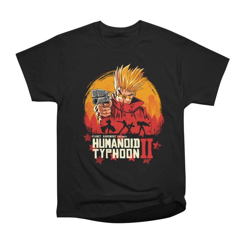 Red Humanoid Typhoon II Men's Heavyweight T-Shirt by vincenttrinidad's Artist Shop