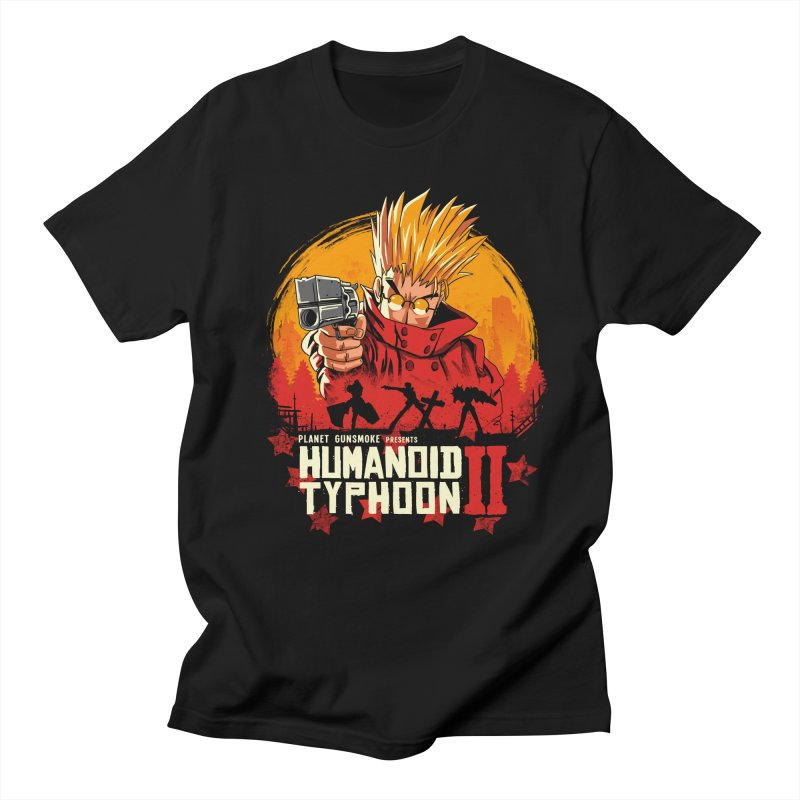 Red Humanoid Typhoon II Women's Regular Unisex T-Shirt by vincenttrinidad's Artist Shop