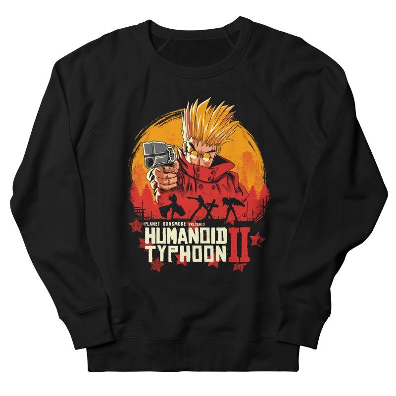 Red Humanoid Typhoon II Women's French Terry Sweatshirt by vincenttrinidad's Artist Shop