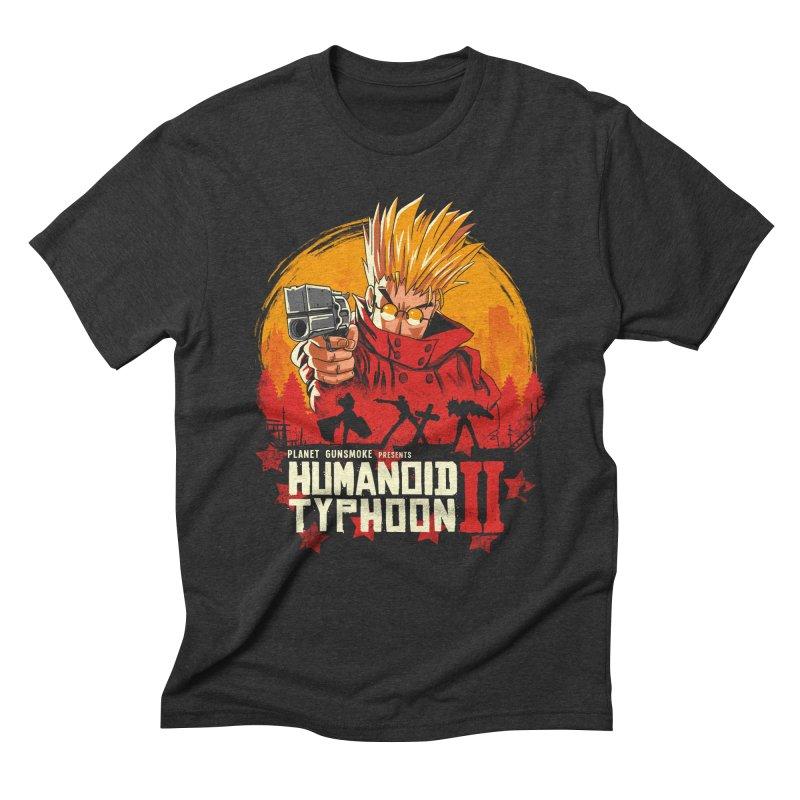 Red Humanoid Typhoon II Men's Triblend T-Shirt by vincenttrinidad's Artist Shop