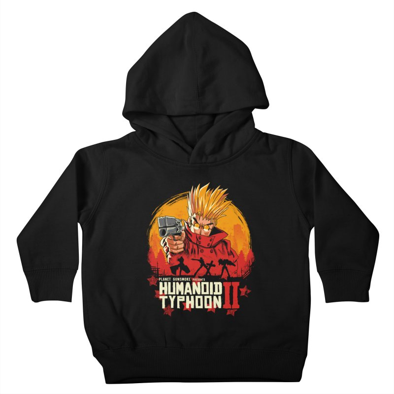 Red Humanoid Typhoon II Kids Toddler Pullover Hoody by vincenttrinidad's Artist Shop