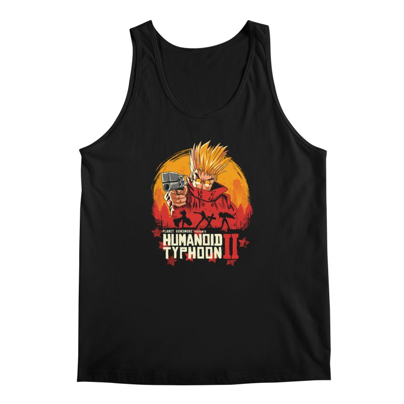Red Humanoid Typhoon II Men's Regular Tank by vincenttrinidad's Artist Shop