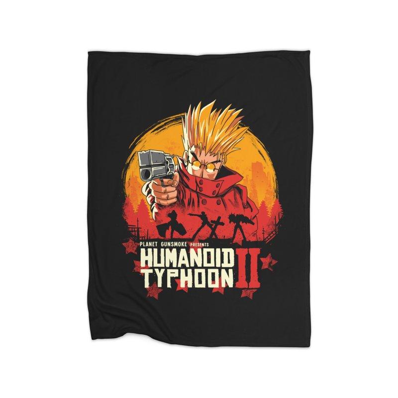 Red Humanoid Typhoon II Home Blanket by vincenttrinidad's Artist Shop