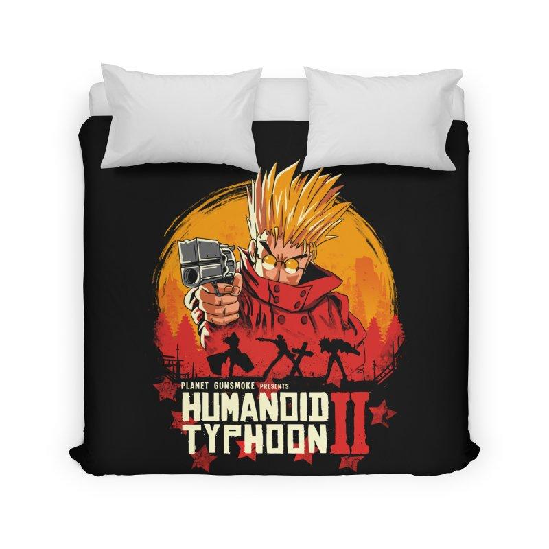 Red Humanoid Typhoon II Home Duvet by vincenttrinidad's Artist Shop