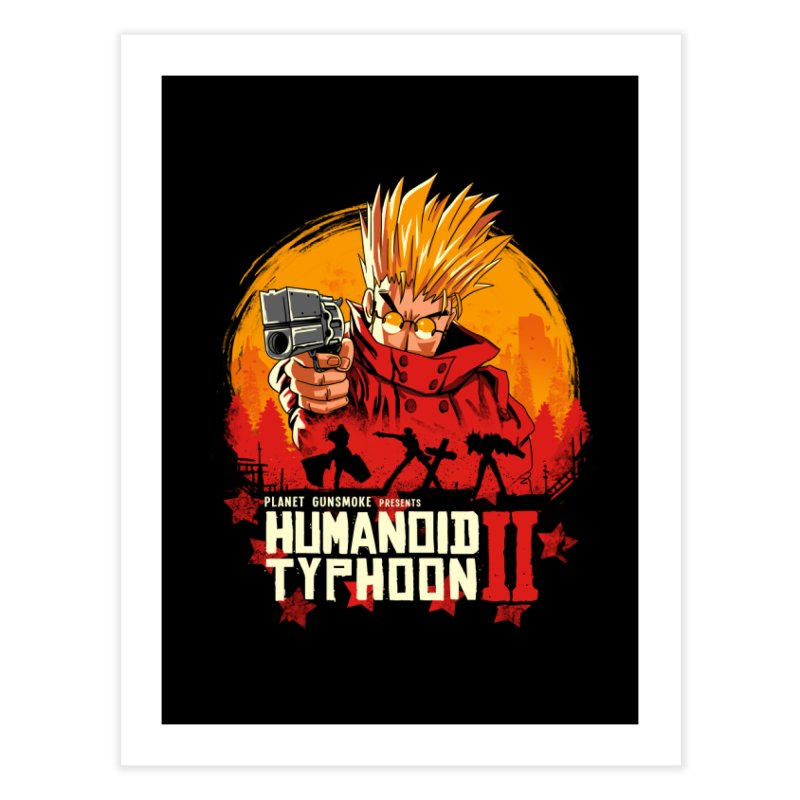 Red Humanoid Typhoon II Home Fine Art Print by vincenttrinidad's Artist Shop