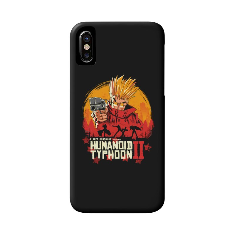 Red Humanoid Typhoon II Accessories Phone Case by vincenttrinidad's Artist Shop