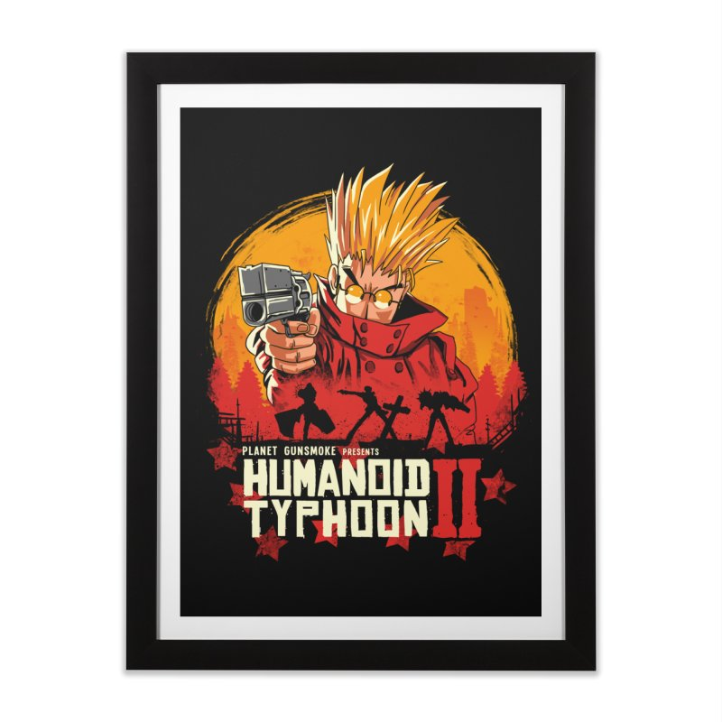 Red Humanoid Typhoon II Home Framed Fine Art Print by vincenttrinidad's Artist Shop
