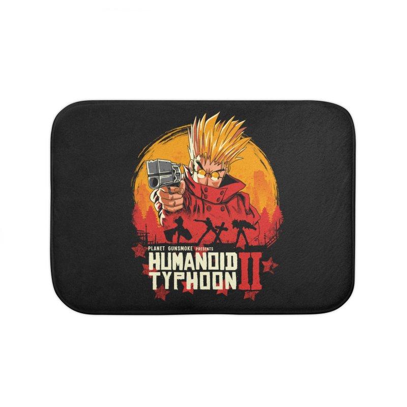 Red Humanoid Typhoon II Home Bath Mat by vincenttrinidad's Artist Shop