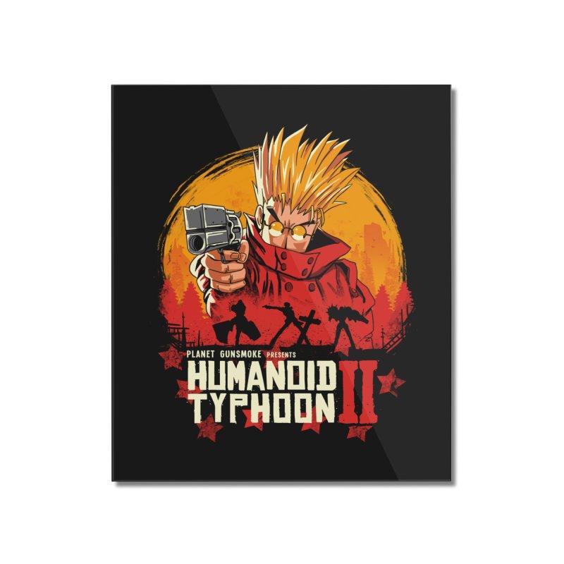 Red Humanoid Typhoon II Home Mounted Acrylic Print by vincenttrinidad's Artist Shop