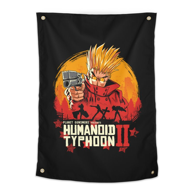Red Humanoid Typhoon II Home Tapestry by vincenttrinidad's Artist Shop