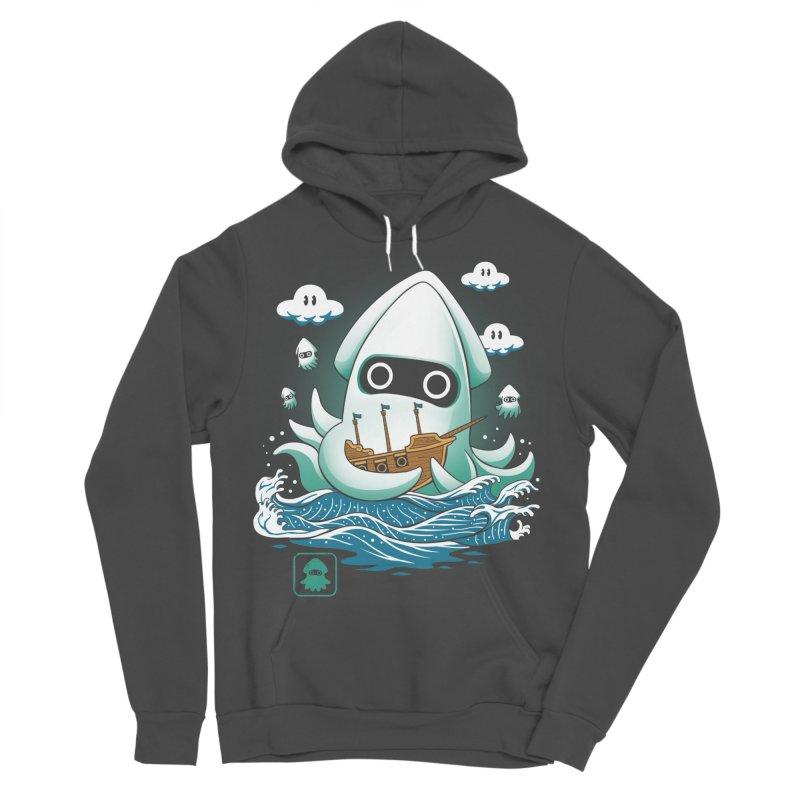 Blooper Kaiju Men's Sponge Fleece Pullover Hoody by vincenttrinidad's Artist Shop