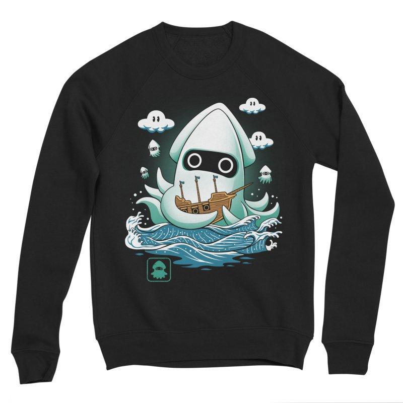 Blooper Kaiju Men's Sponge Fleece Sweatshirt by vincenttrinidad's Artist Shop
