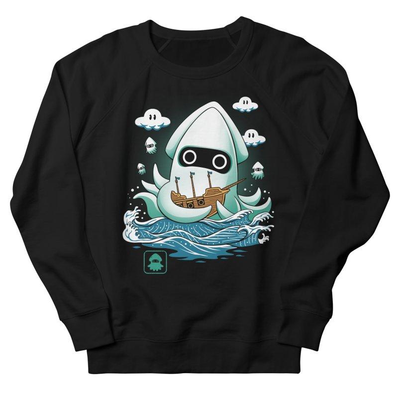 Blooper Kaiju Men's French Terry Sweatshirt by vincenttrinidad's Artist Shop