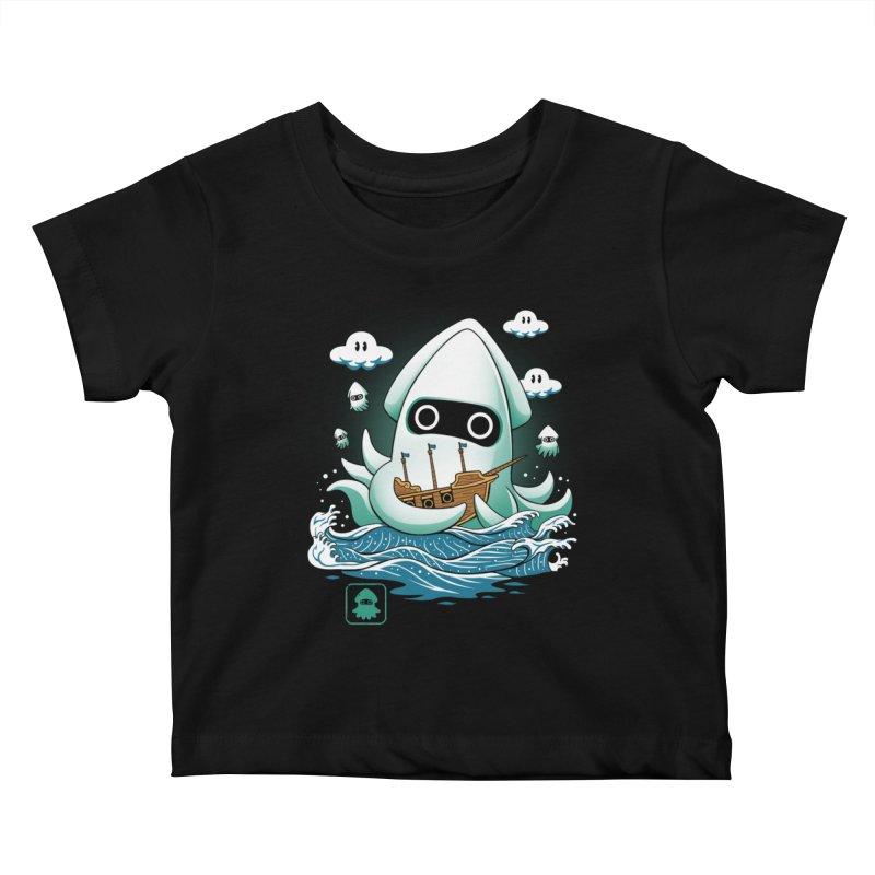 Blooper Kaiju Kids Baby T-Shirt by vincenttrinidad's Artist Shop