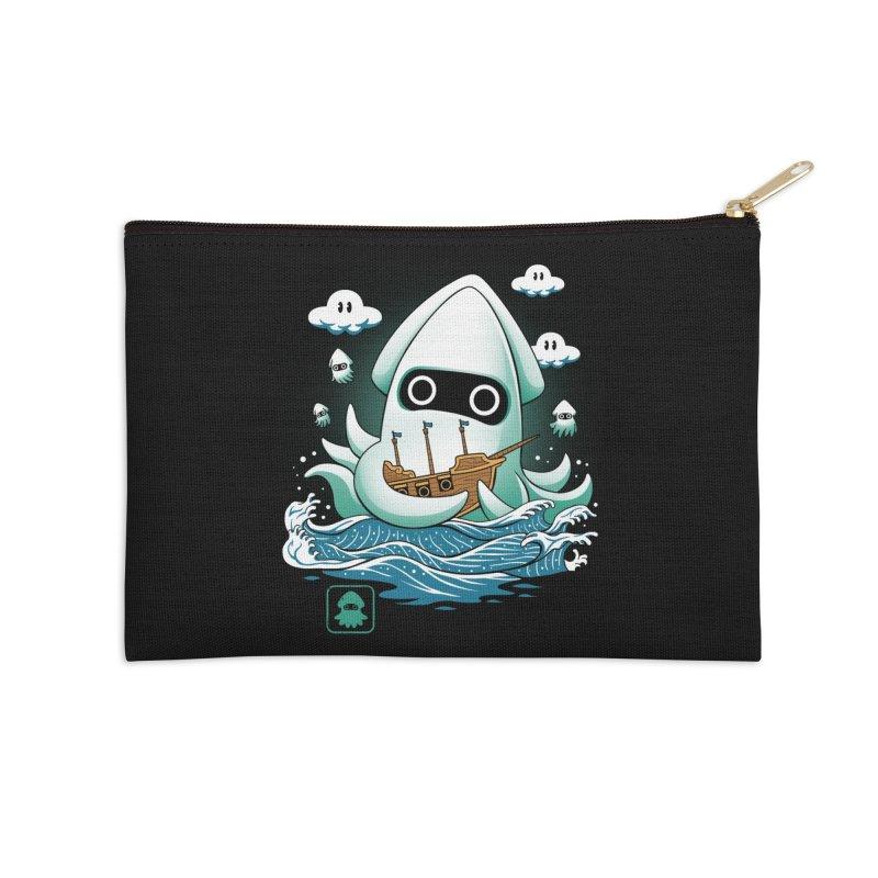 Blooper Kaiju Accessories Zip Pouch by vincenttrinidad's Artist Shop