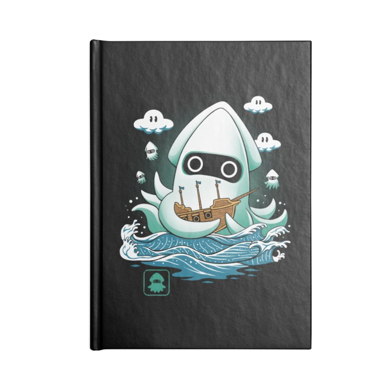 Blooper Kaiju Accessories Notebook by vincenttrinidad's Artist Shop
