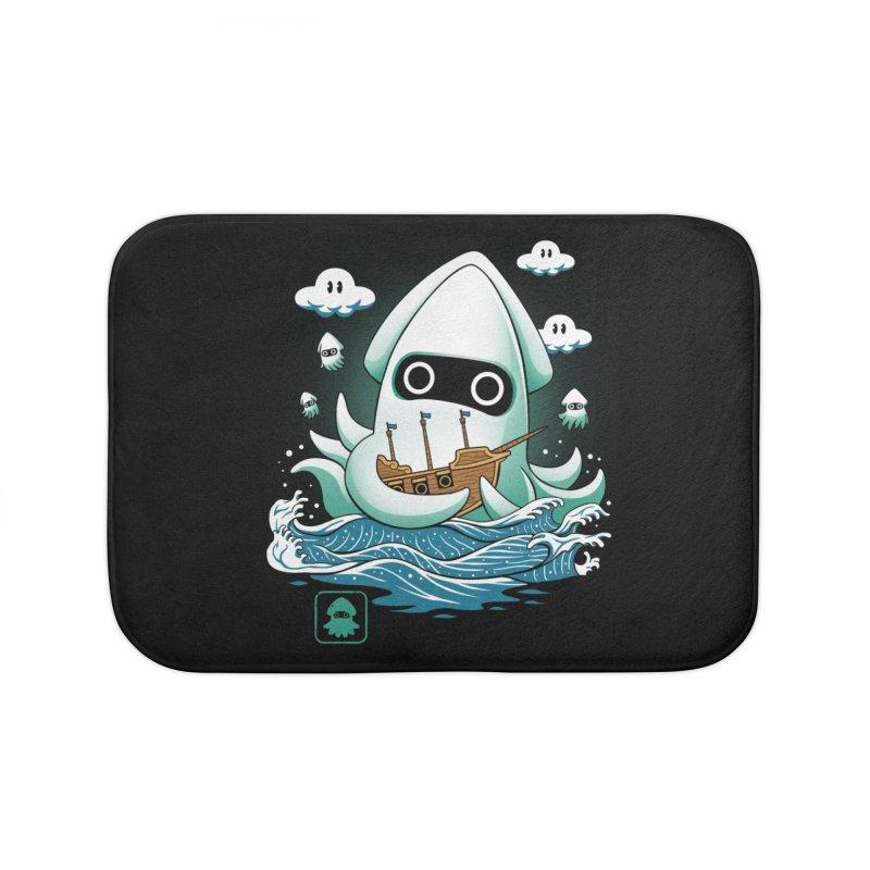 Blooper Kaiju Home Bath Mat by vincenttrinidad's Artist Shop