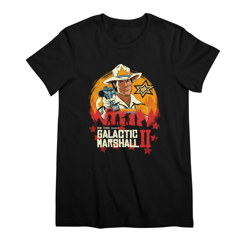 Red Galactic Marshall II Women's Premium T-Shirt by vincenttrinidad's Artist Shop