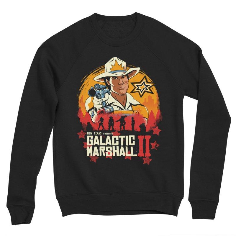Red Galactic Marshall II Men's Sponge Fleece Sweatshirt by vincenttrinidad's Artist Shop
