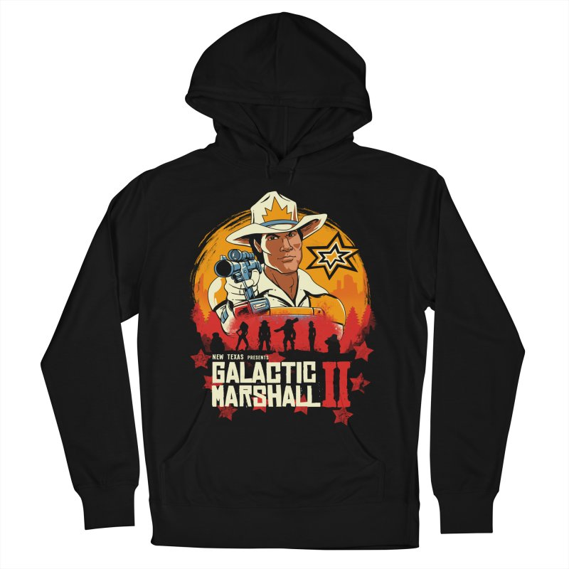 Red Galactic Marshall II Women's French Terry Pullover Hoody by vincenttrinidad's Artist Shop