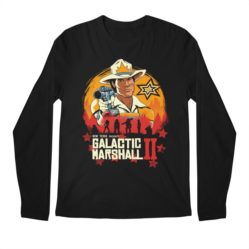 Red Galactic Marshall II Men's Regular Longsleeve T-Shirt by vincenttrinidad's Artist Shop