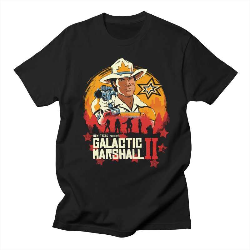 Red Galactic Marshall II Women's Regular Unisex T-Shirt by vincenttrinidad's Artist Shop