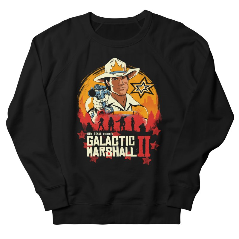 Red Galactic Marshall II Women's French Terry Sweatshirt by vincenttrinidad's Artist Shop