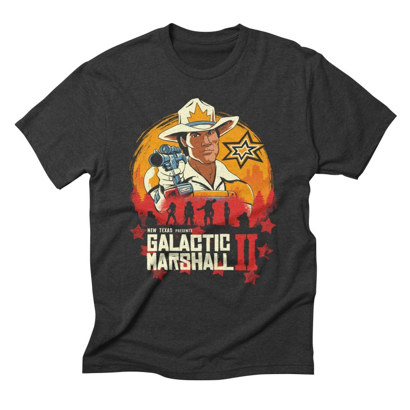 Red Galactic Marshall II Men's Triblend T-Shirt by vincenttrinidad's Artist Shop