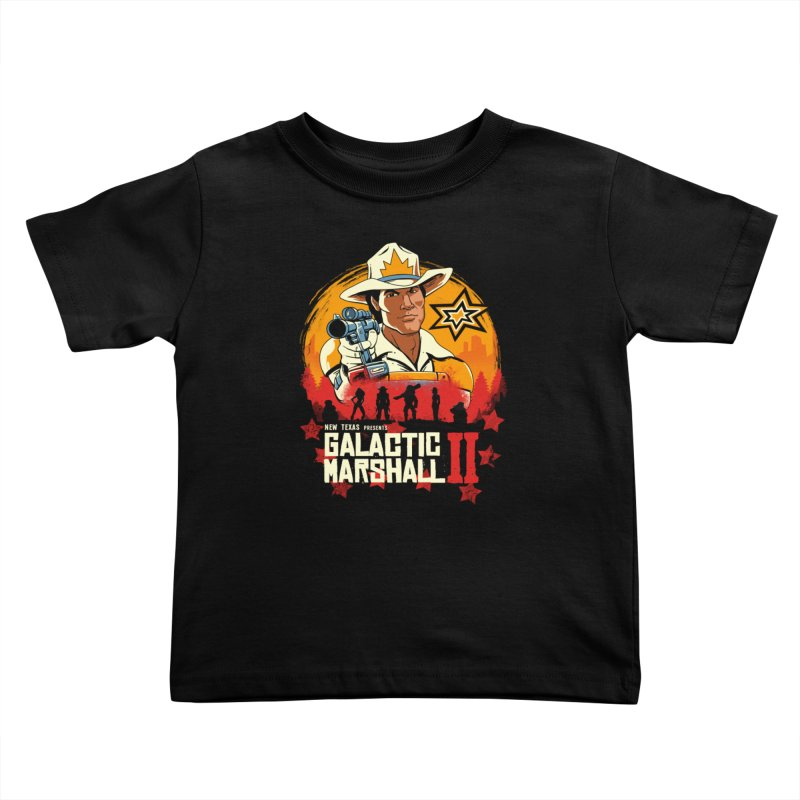 Red Galactic Marshall II Kids Toddler T-Shirt by vincenttrinidad's Artist Shop