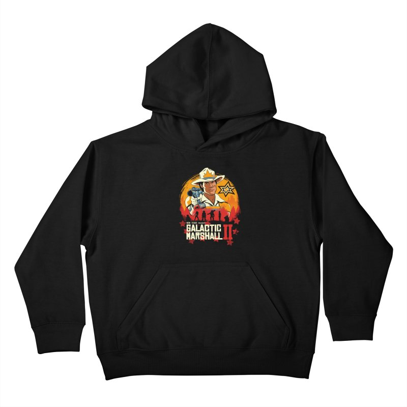 Red Galactic Marshall II Kids Pullover Hoody by vincenttrinidad's Artist Shop