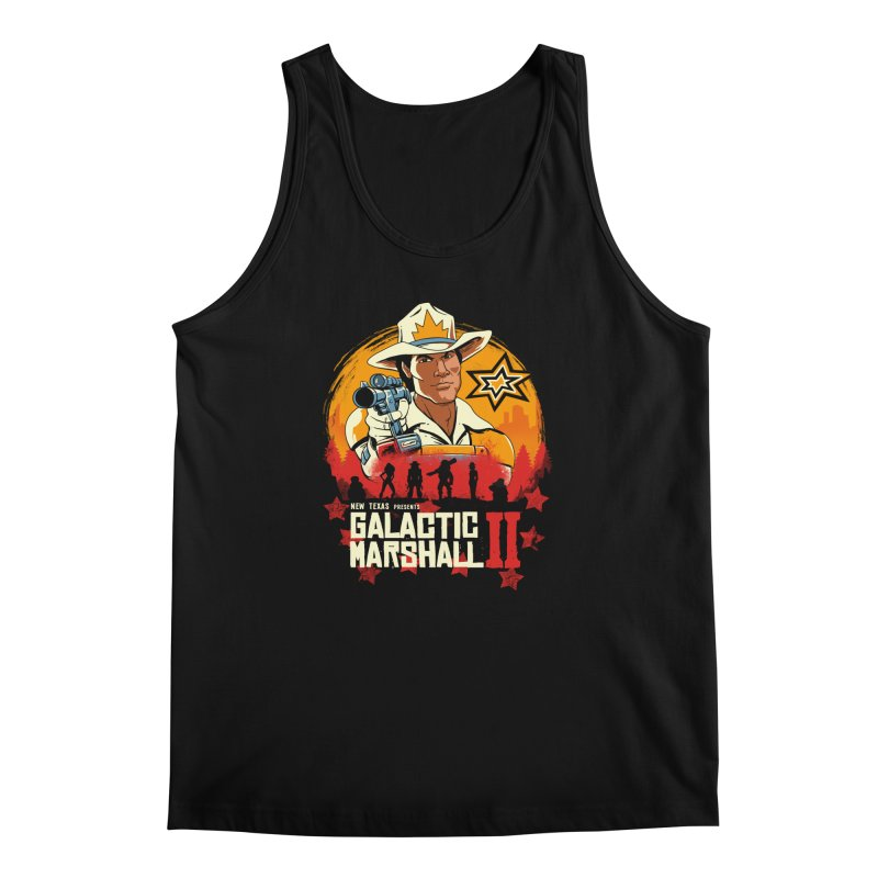 Red Galactic Marshall II Men's Regular Tank by vincenttrinidad's Artist Shop