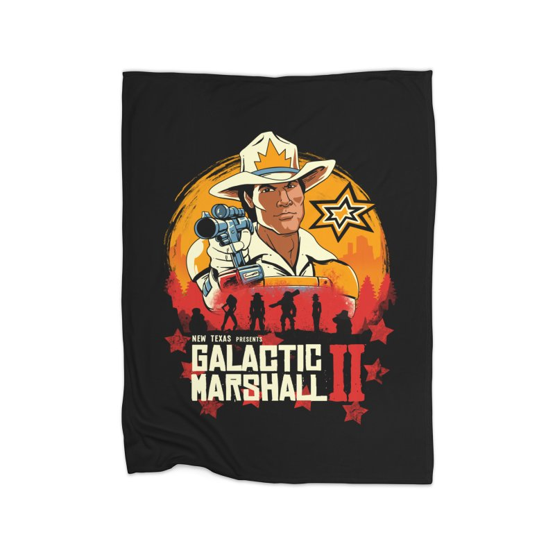 Red Galactic Marshall II Home Blanket by vincenttrinidad's Artist Shop
