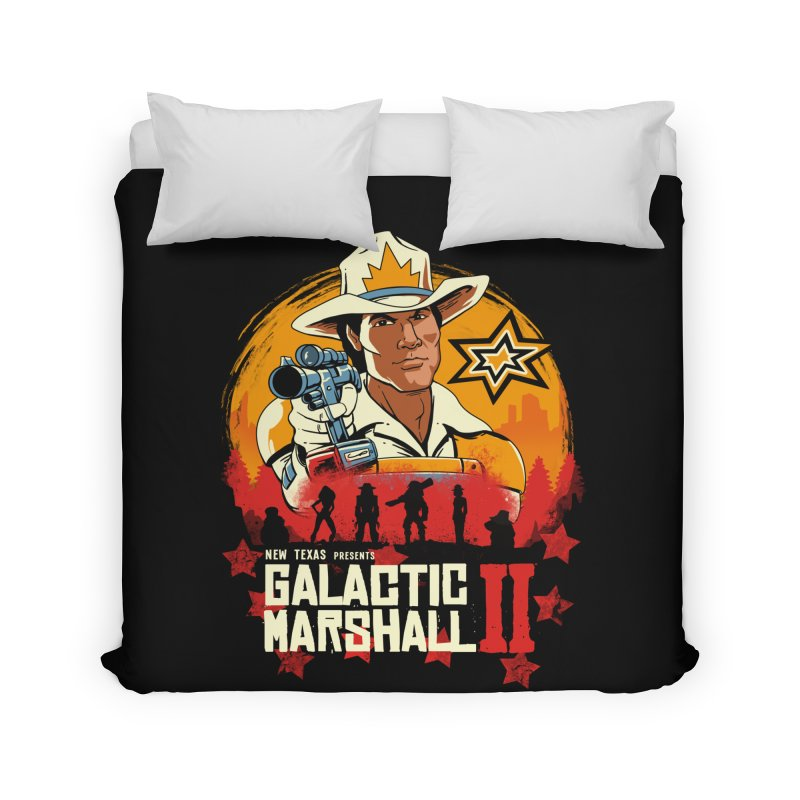 Red Galactic Marshall II Home Duvet by vincenttrinidad's Artist Shop