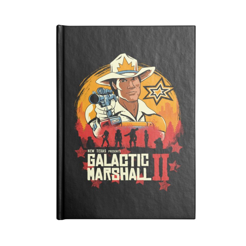 Red Galactic Marshall II Accessories Notebook by vincenttrinidad's Artist Shop