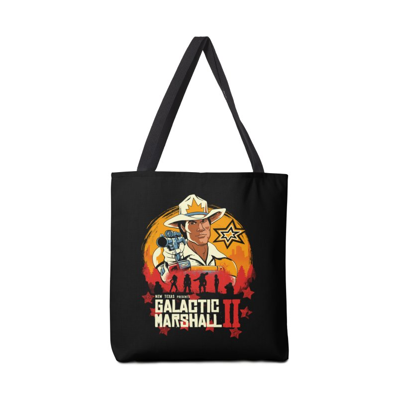 Red Galactic Marshall II Accessories Bag by vincenttrinidad's Artist Shop