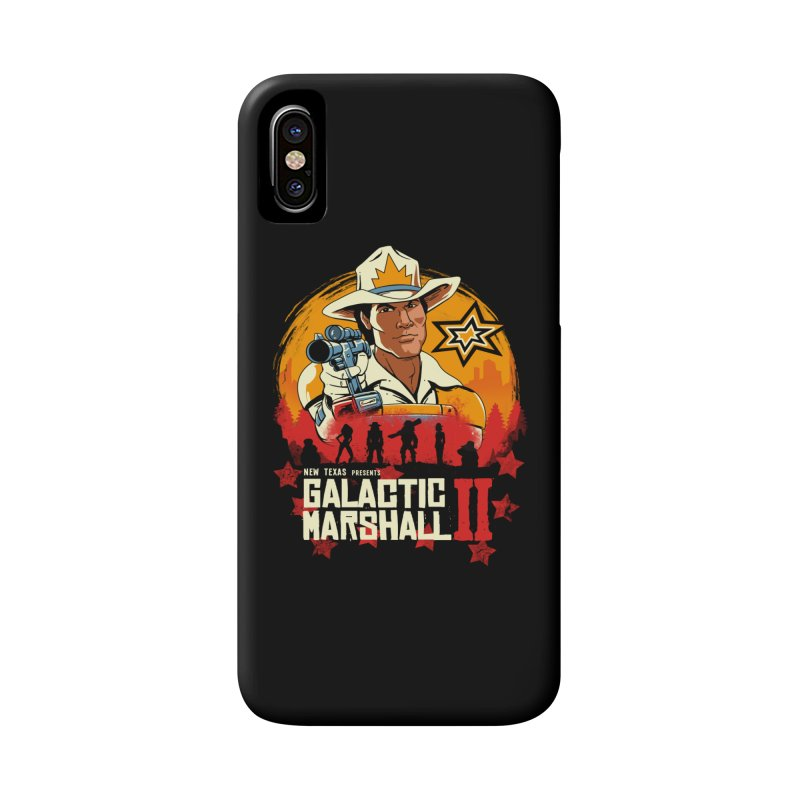 Red Galactic Marshall II Accessories Phone Case by vincenttrinidad's Artist Shop