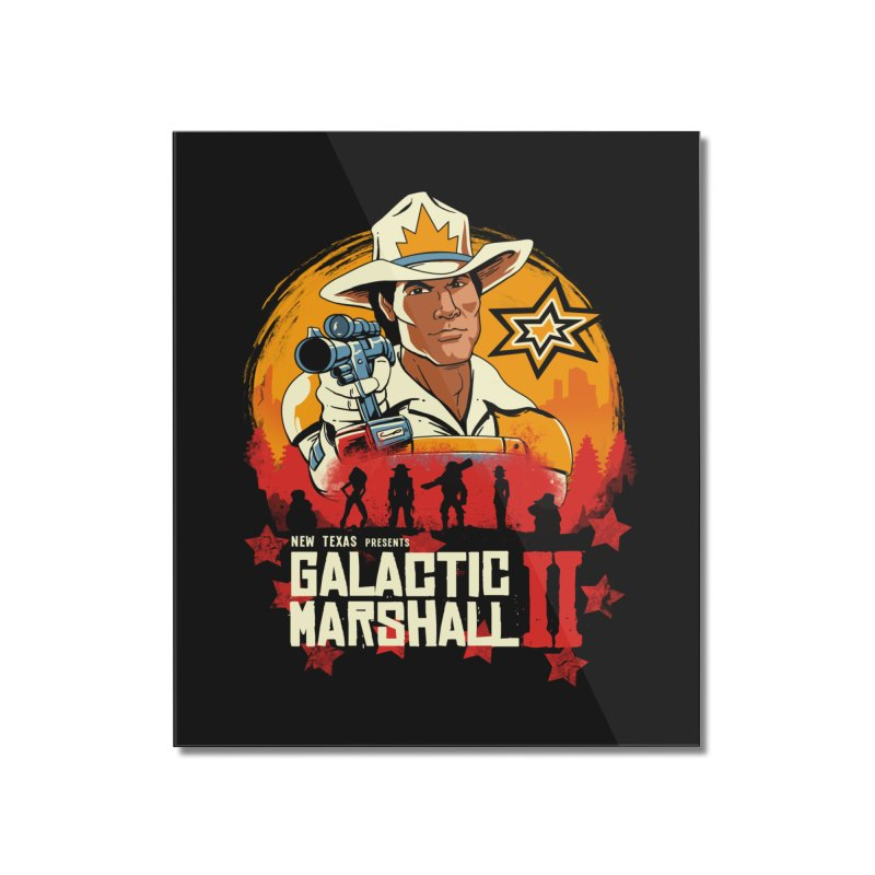 Red Galactic Marshall II Home Mounted Acrylic Print by vincenttrinidad's Artist Shop