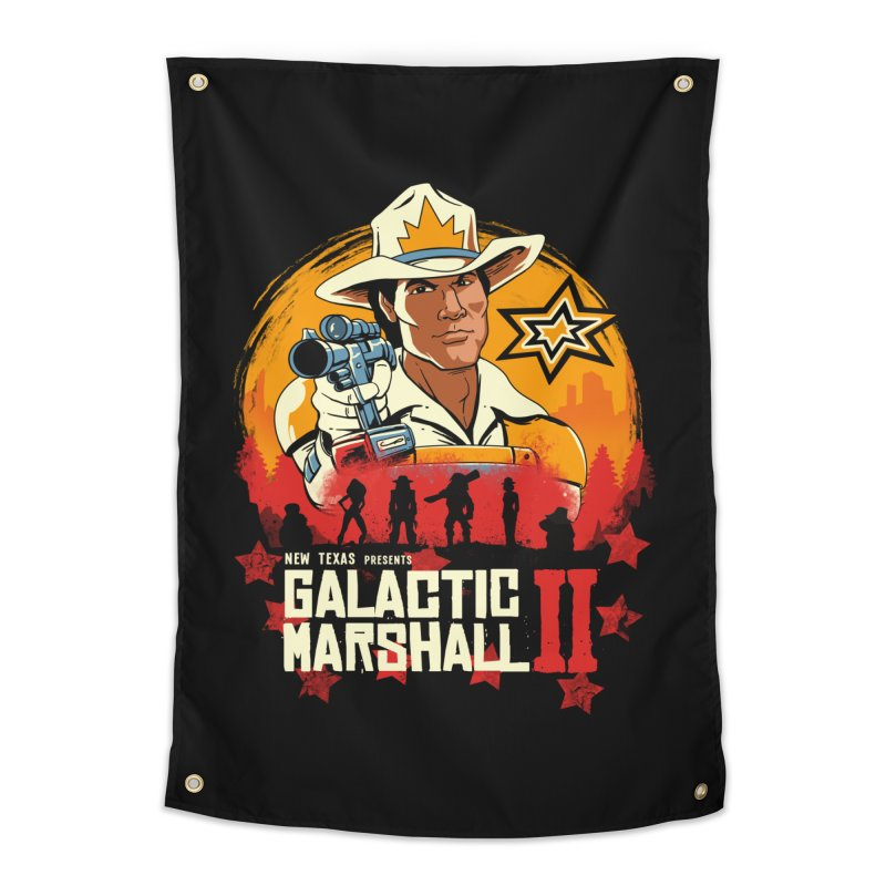 Red Galactic Marshall II Home Tapestry by vincenttrinidad's Artist Shop