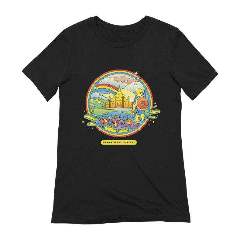 Trippy Adventurer Women's Extra Soft T-Shirt by vincenttrinidad's Artist Shop